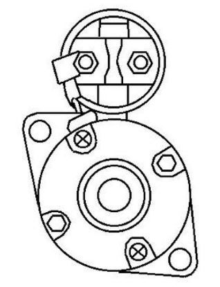 Starter Motor 3JH 4JH and 2 3YM s replaces 129608-77010